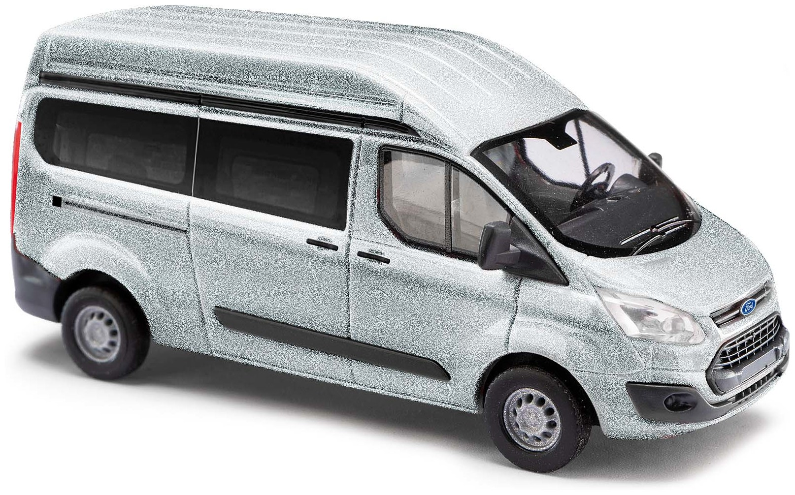 . Muster im Foto POK-TER-BUS Ma/ßgefertigte Vordersitzbez/üge Transit Custom Design VIP Grau