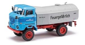 H0 BUSCH IFA W 50 L Speditionspritsche Plane Sp Kraftverkehr Spoiler DDR # 95173