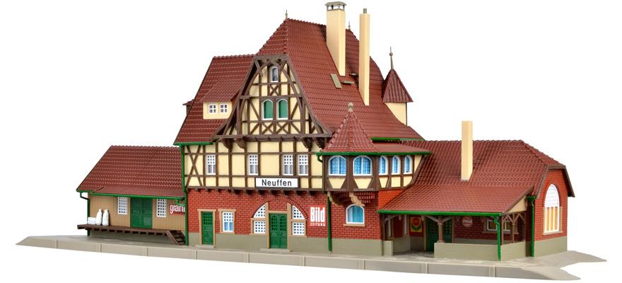 Bahnsteig Neuffen   Bausatz Neuware Vollmer H0 43539
