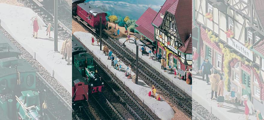 Vollmer 43539 platform Neuffen