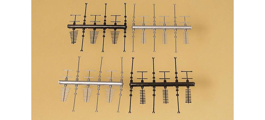 Auhagen 42653 Ho 24 Antennen P3