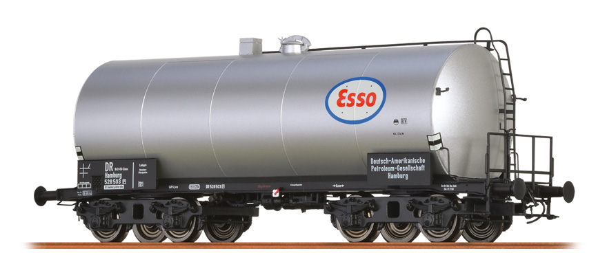 P Brit Esso DC BRAWA 48944 H0 Kesselwagen ZZ III