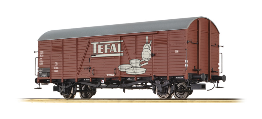 "48740 COVERED FREIGHT CAR GLR 22 ""TEFAL"" DB"