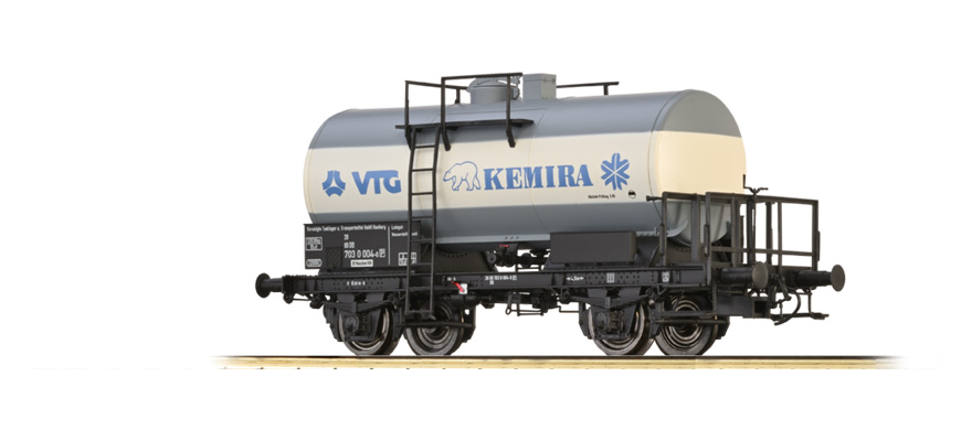 "49251 TANK CAR 2-AXLE ""VTG KEMIRA"" DB"