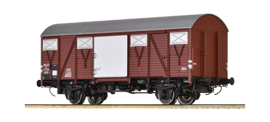 50119 Covered Freight Car K4