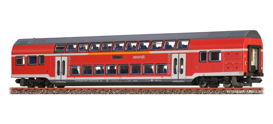 64520 Double-Deck Middle Waggon