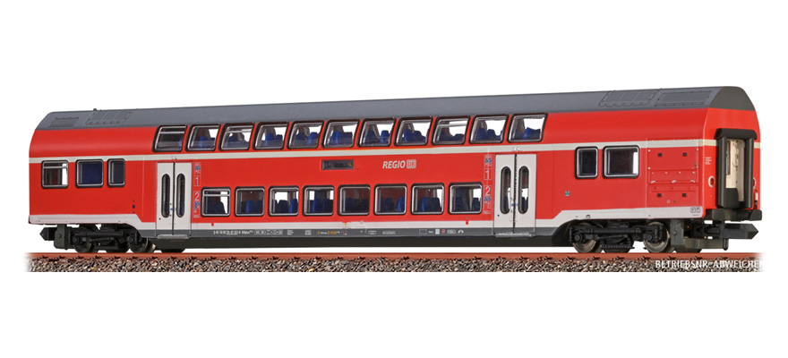 64522 Double-Deck Middle Waggon