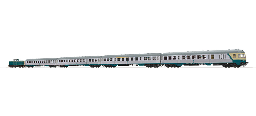 B2009 Train set DB BR212