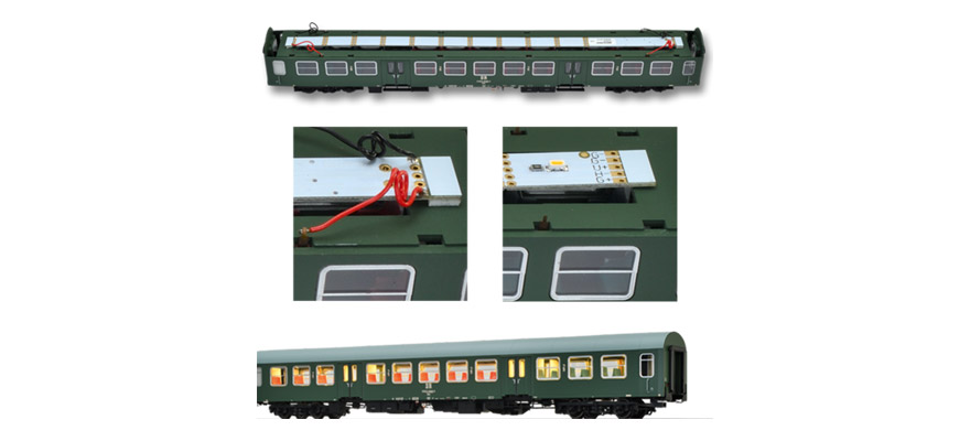 Brawa 2212 Light PCB for passenger coach
