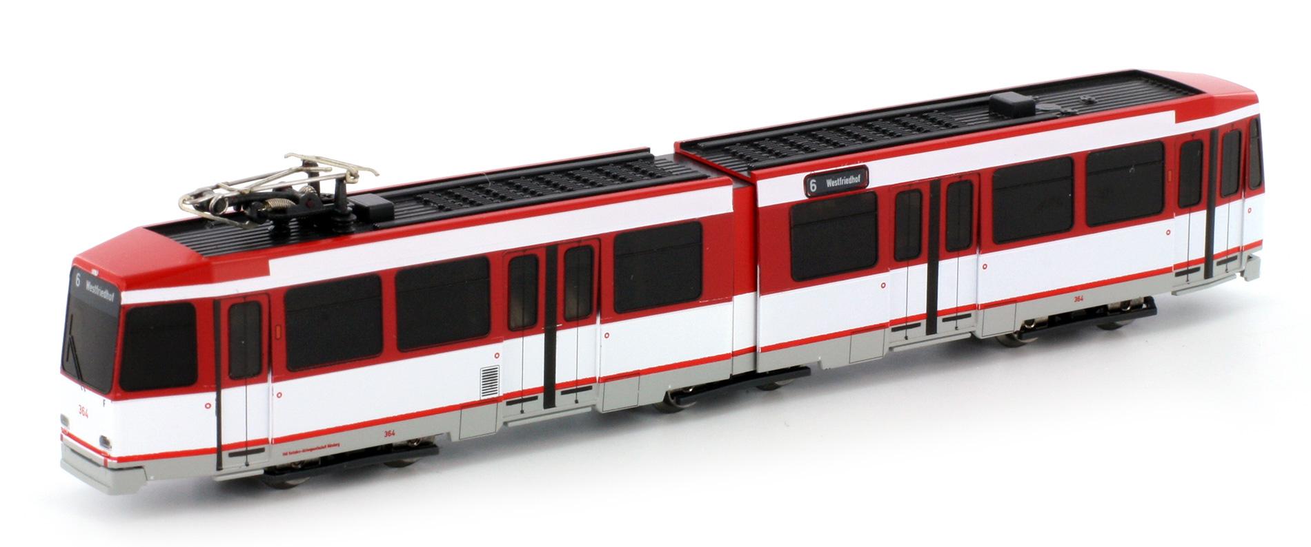 M6 0 60 >> Hobbytrain H14903 Düwag Typ M6 modellbahnshop-lippe.com