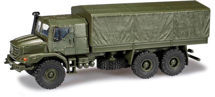 herpa 744416 voie h0 mercedes benz zetros 6x6 gepanzert bundeswehr. Black Bedroom Furniture Sets. Home Design Ideas