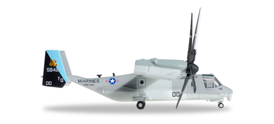 "Herpa 557788 MV-22B USMC ""Red Dragons"""