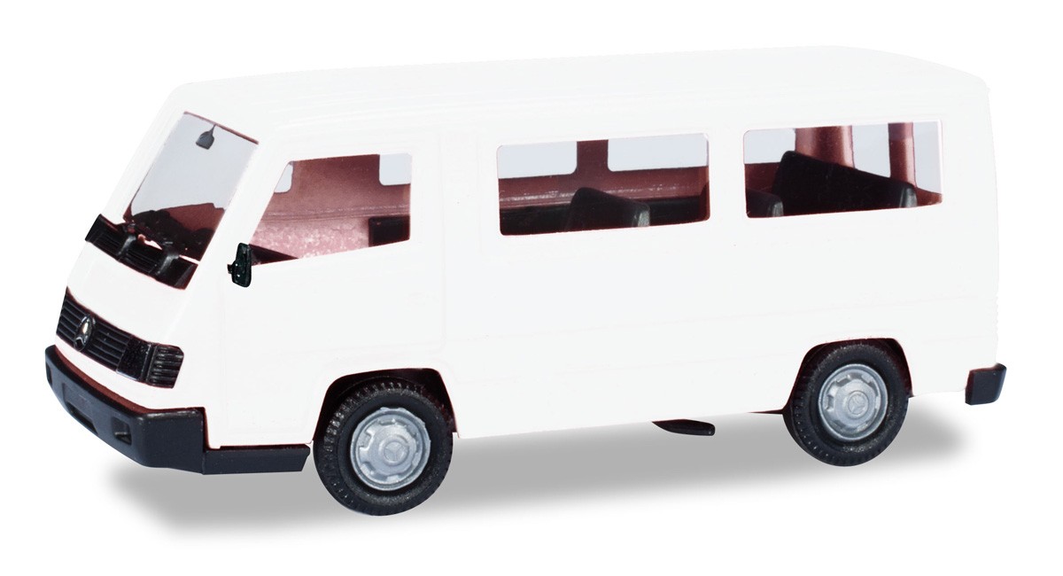 Herpa 012645-007 Minikit Mercedes Benz G Modell weiß Scale 1 87