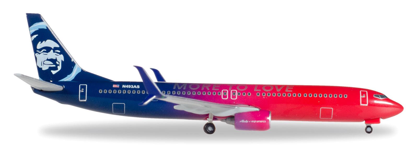 Herpa Wings 1:500  Boeing 737-900ER  Delta Air Lines  531382  Modellairport500