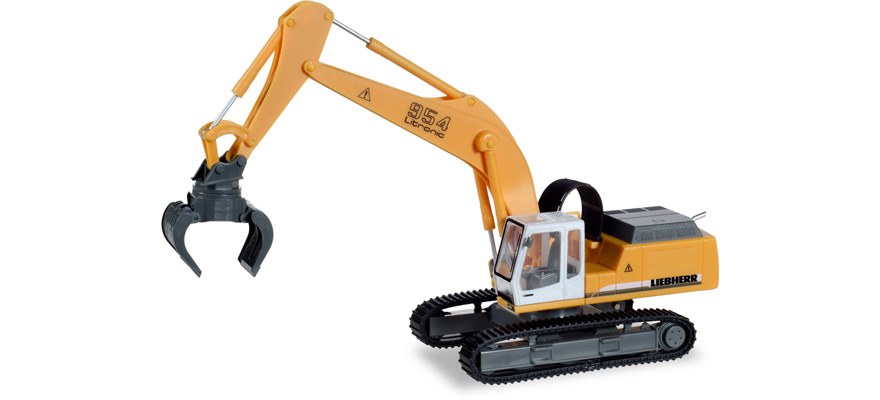 308908 Liebherr crawler excavator 954 Litronic with sorting grabs