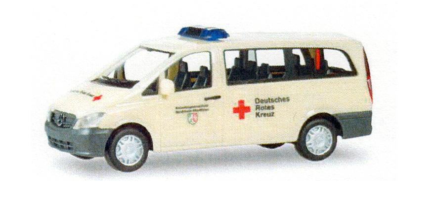 Herpa 931816 Gauge H0 Mercedes Benz Vito Bus Drk Nrw