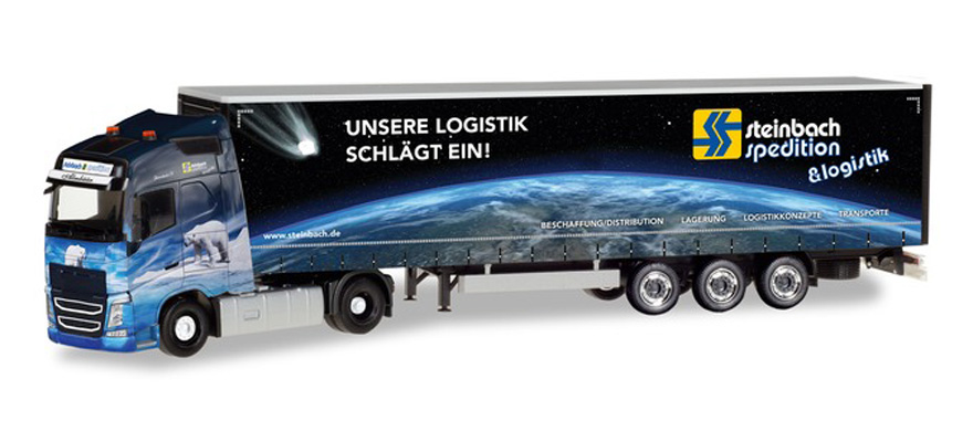"309875 Curtain canvas semitrailer ""Steinbach Logistik"""