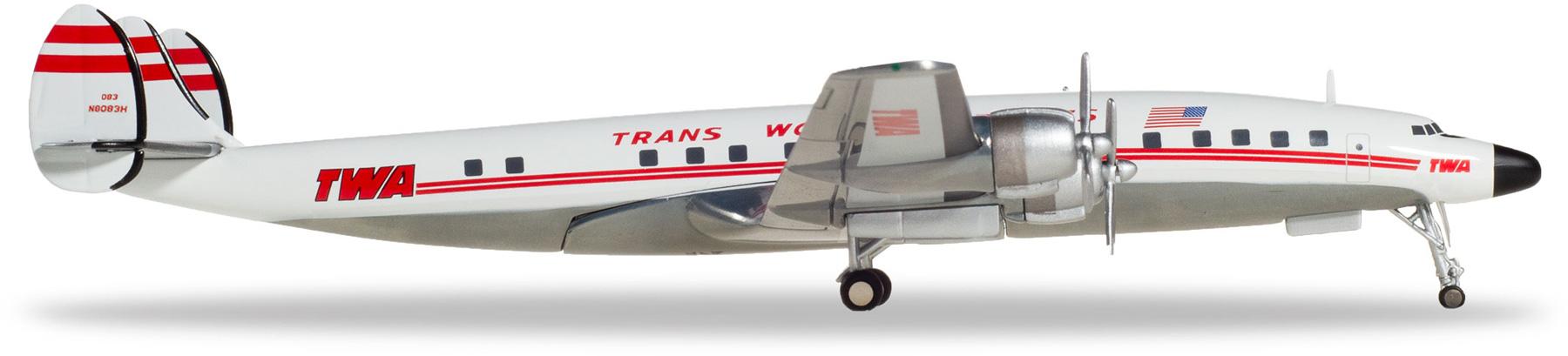1:200 558372-001 TWA-Trans World Airlines LOCKHEED l-1649a Jetstream