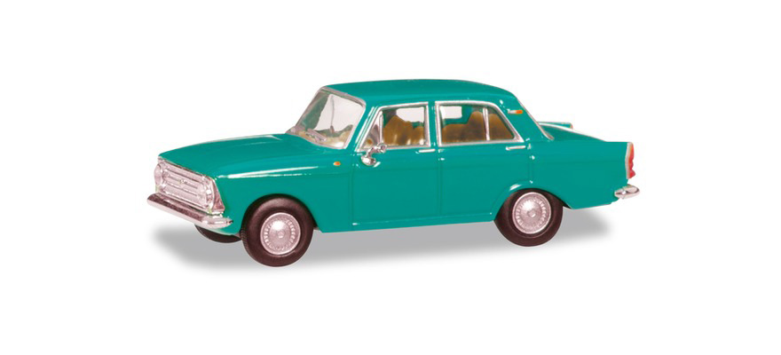 Herpa 024365-004 Moskwitsch 408, mint turquoise