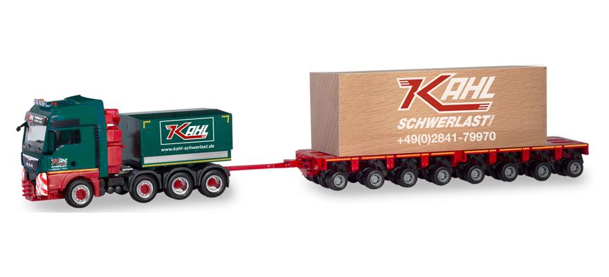 Herpa camiones MAN tg-x XXL THP-tilasz caja calva cargas pesadas 310857