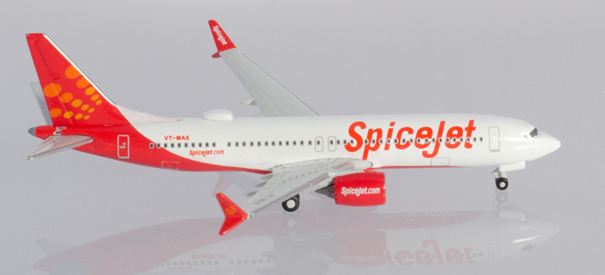 "533638 Spicejet Boeing 737 Max 8 ""King Chilli"""