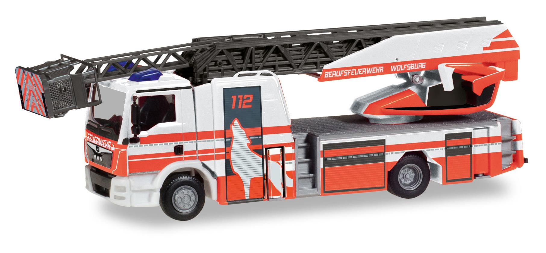 Preiser 14203 h0 vigili del fuoco
