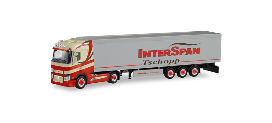 311618 Renault T walking floor semitrailer