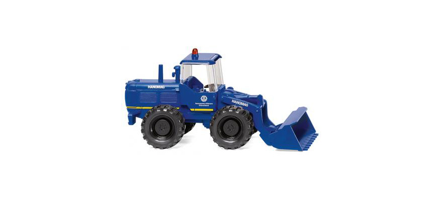 065109 THW - wheel loader (Hanomag)