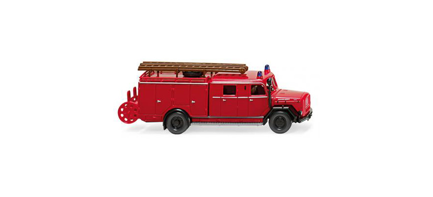 Magirus - nuevo en caja original bomberos-lf 16 Wiking 086398-1:87