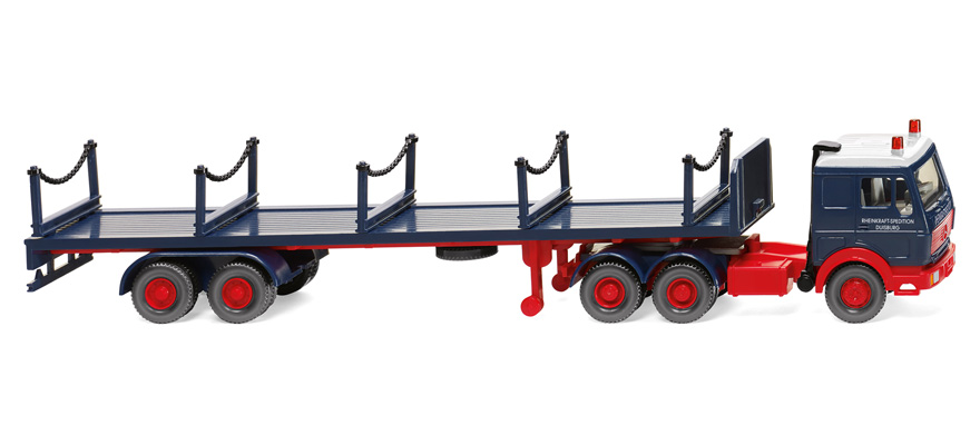 055402 Stanchion trailer truck (MB 3850)