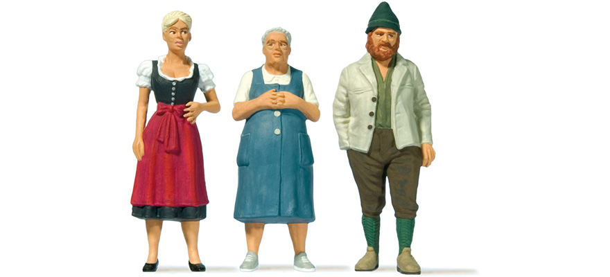 44921 People in Bavarian national costumes