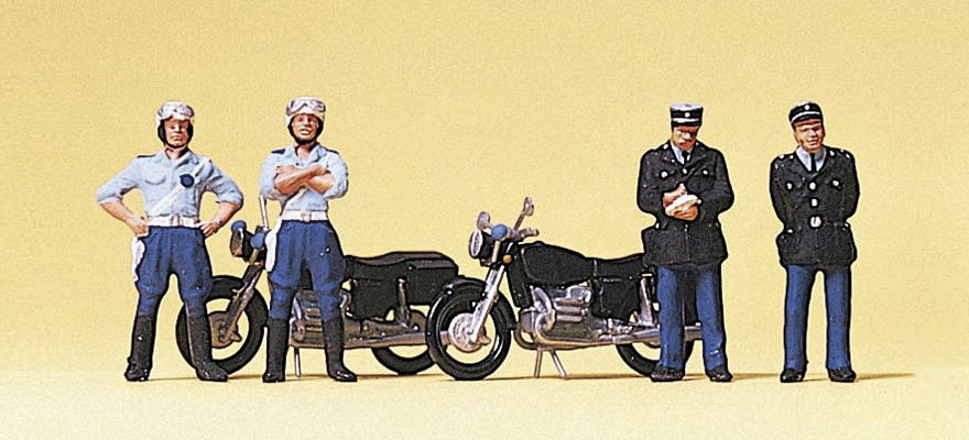 Preiser 10191 French constabulary