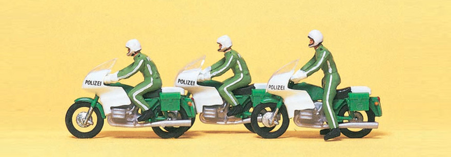 10489 Motorcyclists Police