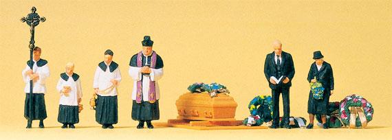 preiser 10520 beerdigung katholischer geistlicher. Black Bedroom Furniture Sets. Home Design Ideas