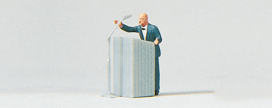 Preiser 28035 Small man - big words