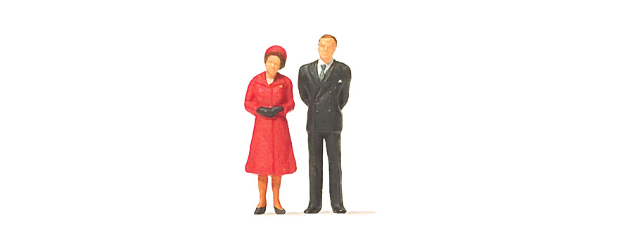 28132 HM The Queen and Prince Philip