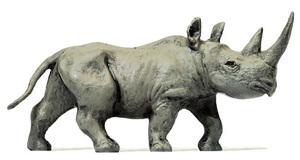 H0 1:87 Exklusivserie. Preiser 29523 Junges afrikanisches Nashorn