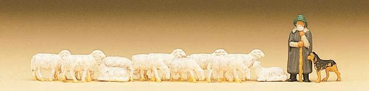 Faller 155510 Schäfer und Schafe