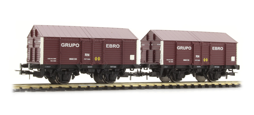 E19036 2 unit set covered wagons PX