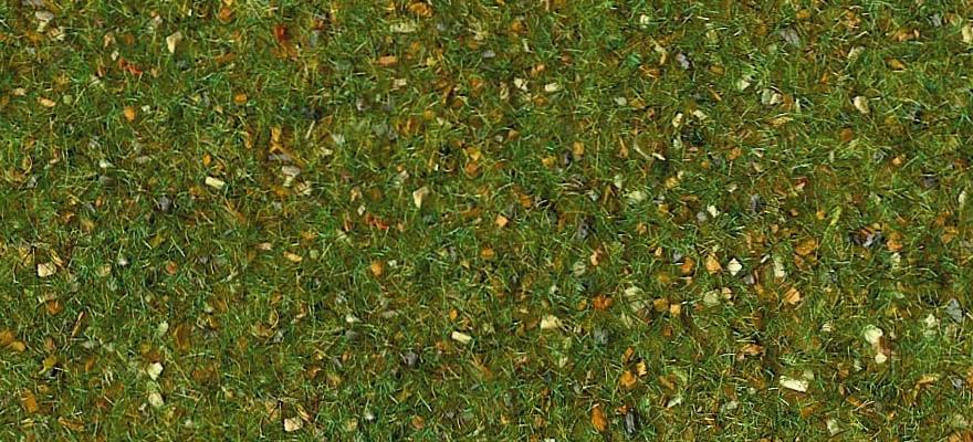 49390e462 Heki 30933 Gauge H0 Grass mat, forest floor (4-couloured), 100 x 300 cm