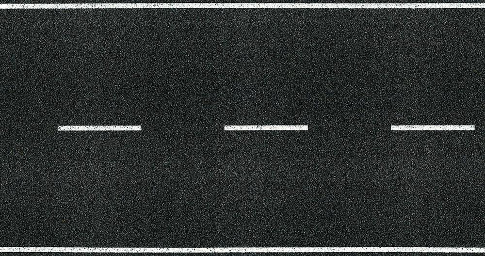 Asphalt 1 m H0 Heki 6567 Fahrbahndecke