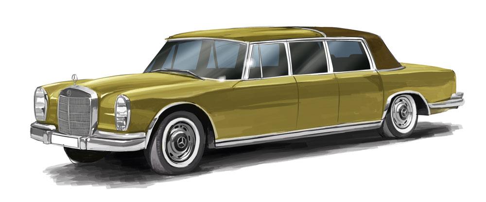 1//87 Brekina MB 600 Landaulet  gold SONDERPREIS 13008 Starmada