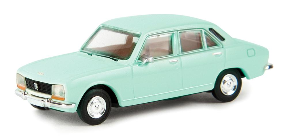1//87 Brekina Peugeot 504 hellgrün 29111