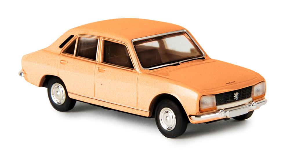 Brekina 29112 Gauge H0 Peugeot 504 Orange Brown Epoch Iii Iv
