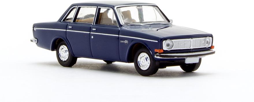 Brekina 29413 Volvo 144, saphirblau