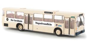 "Neu Brekina 50707-1//87 Mb O 305 Stadtbus /""Stadtwerke Gießen//Täubert/""  Td"
