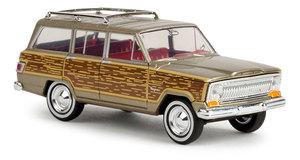1//87 Brekina Jeep Wagoneer woody negro 19855