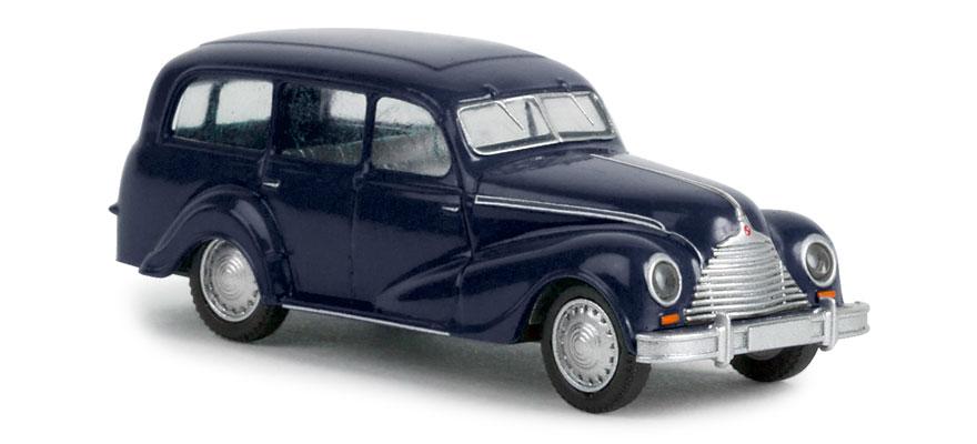 "H0 Auto Modell 1:87 Brekina 27351 EMW 340 /""Kombi/"" saphirblau"