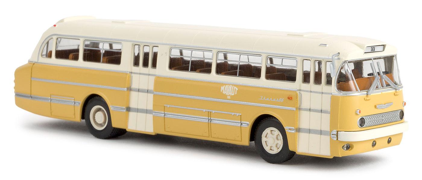 1//87 Brekina Ikarus 66 Stadtbus Mavaut Tata HU 59553