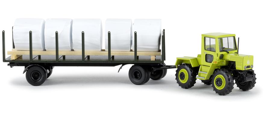 brekina 13714 spur h0 mb trac mit rungenanh nger hellgr n. Black Bedroom Furniture Sets. Home Design Ideas
